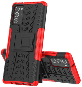 Rubber Hard Armor Cover Case For Samsung Galaxy Note20/Note20 Ultra