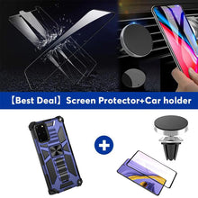 Load image into Gallery viewer, 2021 New Luxury Armor Shockproof With Kickstand For SAMSUNG S20 Plus