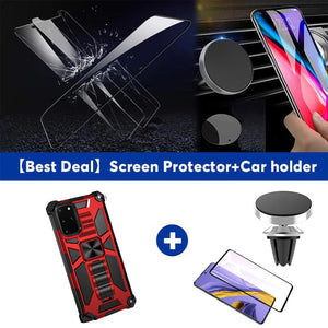 2021 New Luxury Armor Shockproof With Kickstand For SAMSUNG S20 Plus