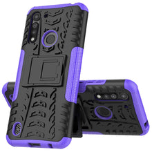 Load image into Gallery viewer, Rubber Hard Armor Cover Case For Moto G8 Power Lite