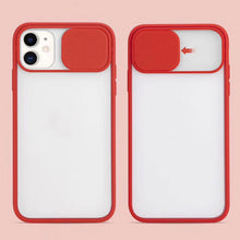 Load image into Gallery viewer, For iPhone 12 Slide Camera Protector TPU Case Cover
