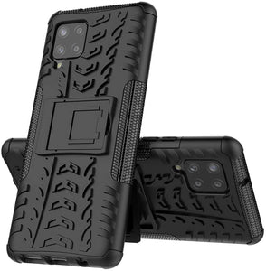 Rubber Hard Armor Cover Case For Samsung Galaxy A42 5G