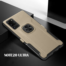 Load image into Gallery viewer, Magnetic Finger Ring PC + TPU Combo Phone Case [Built-in Magnetic Metal Sheet] For Samsung Note 20 Ultra
