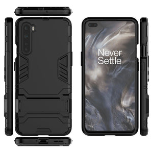 2020 New Shockproof Special Armor Bracket Phone Case For OnePlus Nord