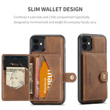 Load image into Gallery viewer, New Magnetic Wallet Phone Case For iPhone 12 Series