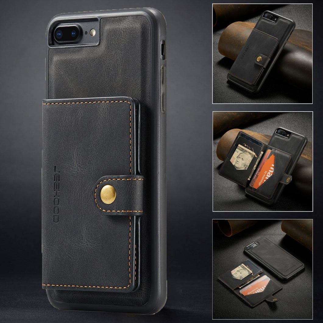 New Magnetic Wallet Phone Case For iPhone 7PLUS / 8PLUS