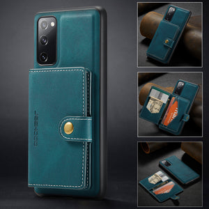 New Magnetic Wallet Phone Case For Samsung S20FE