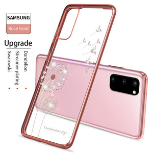 Cute Pattern Soft Silicone Clear Case Cover For Samsung