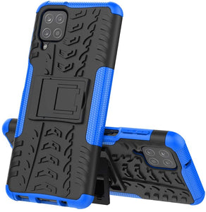 Rubber Hard Armor Cover Case For Samsung Galaxy A12