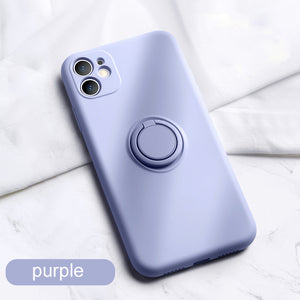 Luxury soft liquid silicone sleeve ultra-thin for iPhone case