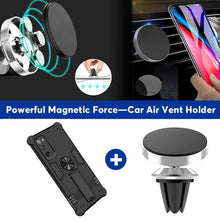 Load image into Gallery viewer, Invisible Bracket Armor Anti-Fall Magnetic Car Phone Case For Samsung S20FE