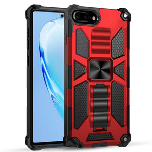 Luxury Armor Shockproof With Kickstand For iPhone 8 Plus