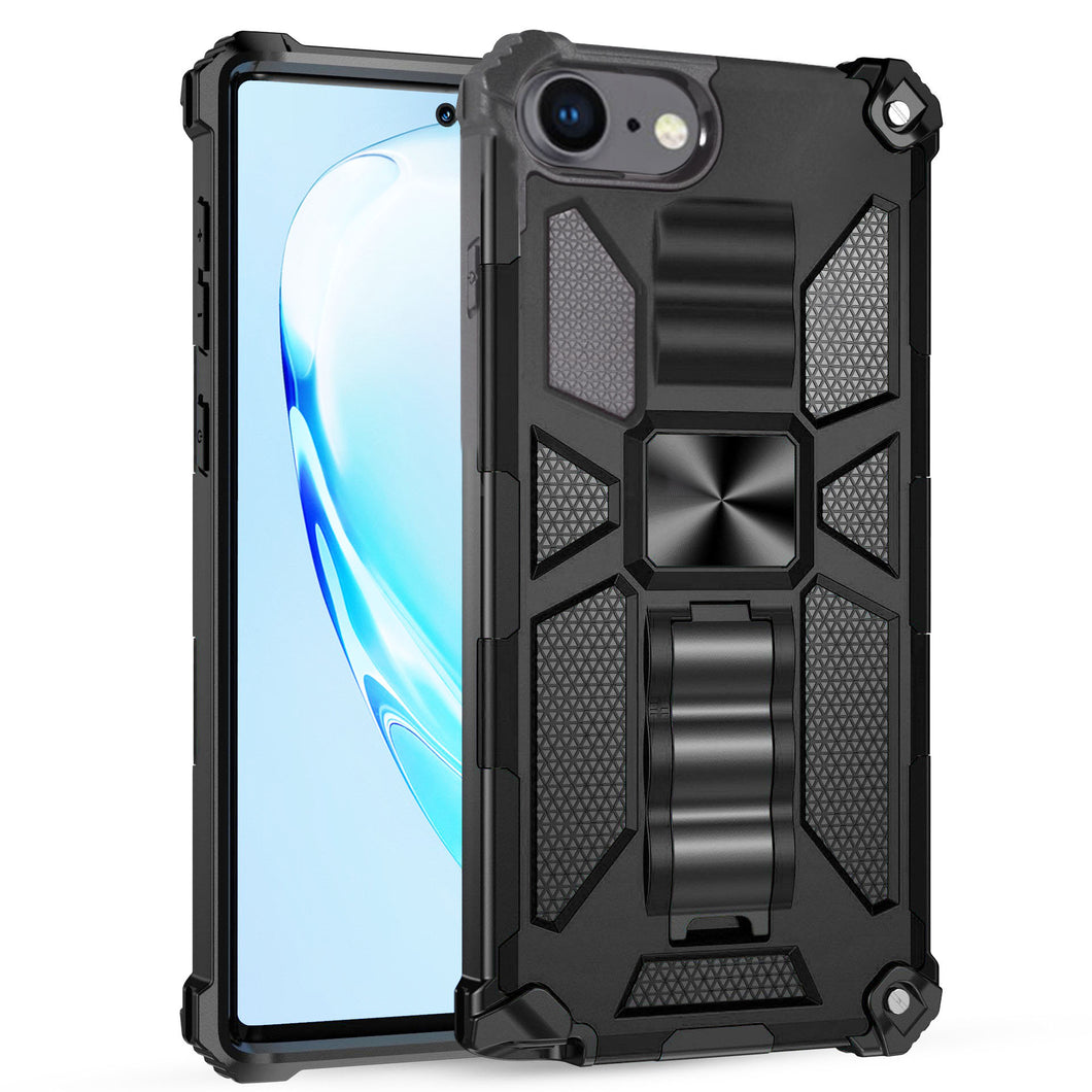 Luxury Armor Shockproof With Kickstand For iPhone 8