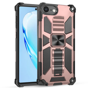 Luxury Armor Shockproof With Kickstand for iPhone SE 2020