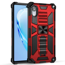Laden Sie das Bild in den Galerie-Viewer, Luxury Armor Shockproof With Kickstand for iPhone XR