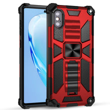 Load image into Gallery viewer, Luxury Armor Shockproof With Kickstand For iPhone XS