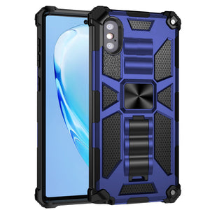 Luxury Armor Shockproof With Kickstand For iPhone XS