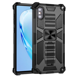 Luxury Armor Shockproof With Kickstand For iPhone X