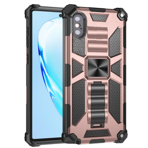 Luxury Armor Shockproof With Kickstand For iPhone XS MAX
