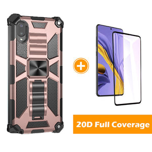 2021 Luxury Armor Shockproof Case With Kickstand For Samsung Galaxy A02