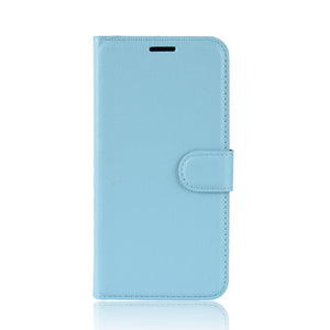 Lychee Pattern Wallet Phone Case For Samsung A Series