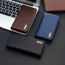 Load image into Gallery viewer, 【2021 NEW】Calfskin Leather Flip  Wallet Case For Samsung S Series