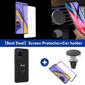 All New 4-in-1 Special Armor Ring Kickstand Case For Samsung S20 ULTRA