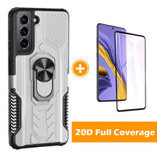 Load image into Gallery viewer, 【2021 NEW】Alliance Shield Shockproof Ring Phone Case  For SAMSUNG Galaxy S21 5G