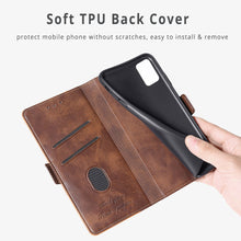 Load image into Gallery viewer, New Leather Wallet Flip Magnet Cover Case For Samsung Galaxy A12