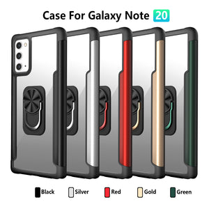 Compatible with Samsung Galaxy Note 20/ Note 20 Ultra Case|360 Degree Rotation Universal Finger Ring Kickstand