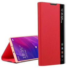 Load image into Gallery viewer, Luxury Vertical Smart Windows Leather Case For Samsung S20 series
