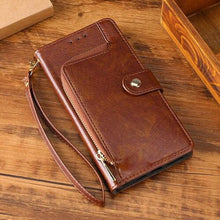 Load image into Gallery viewer, All New Multifunctional Zipper Wallet Leather Flip Case For SAMSUNG Galaxy S20