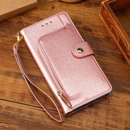 2021 All New Multifunctional Zipper Wallet Leather Flip MOTO Phone Case