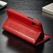 Load image into Gallery viewer, CaseMe Wallet Leather Case Smooth Luxury Magnetic Credit Card Money Cash Stand Case