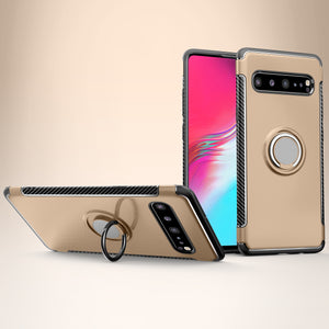 Simplicity Shockproof Ring Phone Case For Samsung S10(5G)