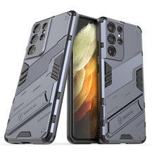 Load image into Gallery viewer, 2021 New Punk Style Stand Phone Case For Samsung S21Ultra