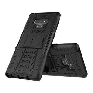 Rubber Hard Armor Cover Case For Samsung Galaxy Note9/Note8