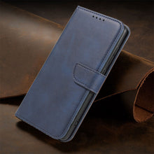Load image into Gallery viewer, Premium Leather Wallet Side Flip Case With Card Holder & Kickstand For Samsung A71/A51