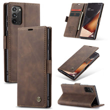 Load image into Gallery viewer, 【2021 NEW】CaseMe Retro Wallet Case For Samsung Note 20