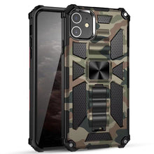 Load image into Gallery viewer, 2021 New Luxury Armor Shockproof With Kickstand For iPhone 11