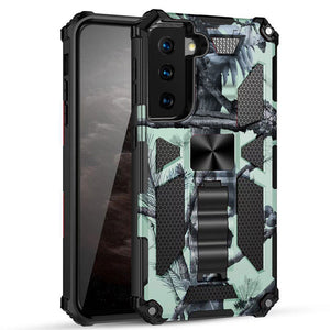 2021 New Luxury Armor Shockproof Case With Kickstand For Samsung