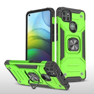 Vehicle-mounted Shockproof Armor Phone Case  For MOTO G9 POWER