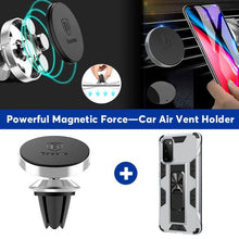 Load image into Gallery viewer, 2021 Luxury Magnet Kickstand Car Holder Ring Phone Case For SAMSUNG S20FE