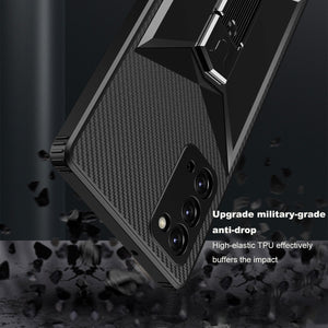 2021 New Reinforced Bracket Mobile Phone Case For Samsung Note20/Note20 Ultra