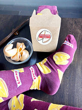 Load image into Gallery viewer, Fortune Cookie Socks in Gift Box with Fortune