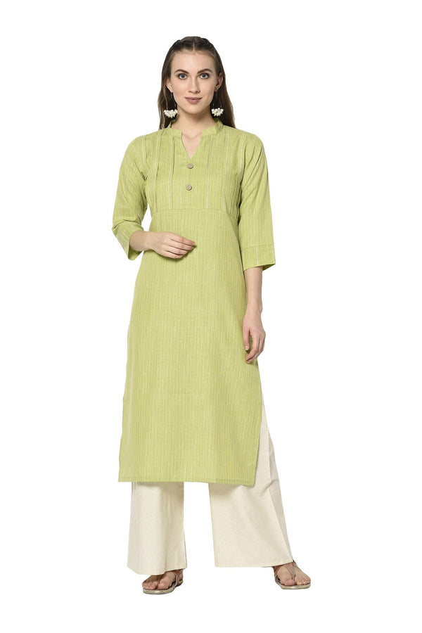 Pretty Kurti In Green Color STC9116