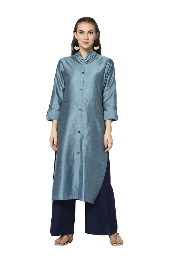 Pretty Kurti In Blue Color STC9120