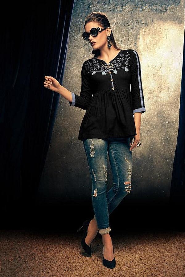 Top In Black Color STC9107