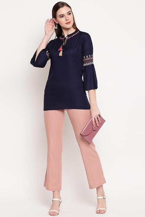Top In Navy Blue STC9137