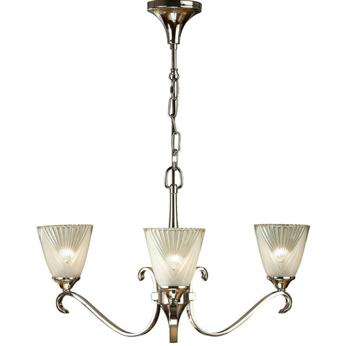 Gray Interiors 1900 - Columbia nickel 3lt Pendant 63440 interiors-1900-63440-multi-arm-glass-63440